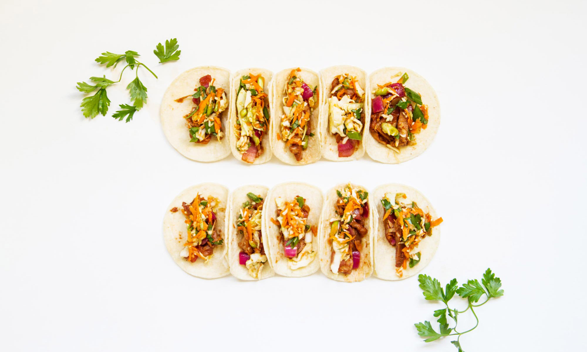 Bar-B-Que Jackfruit Tacos