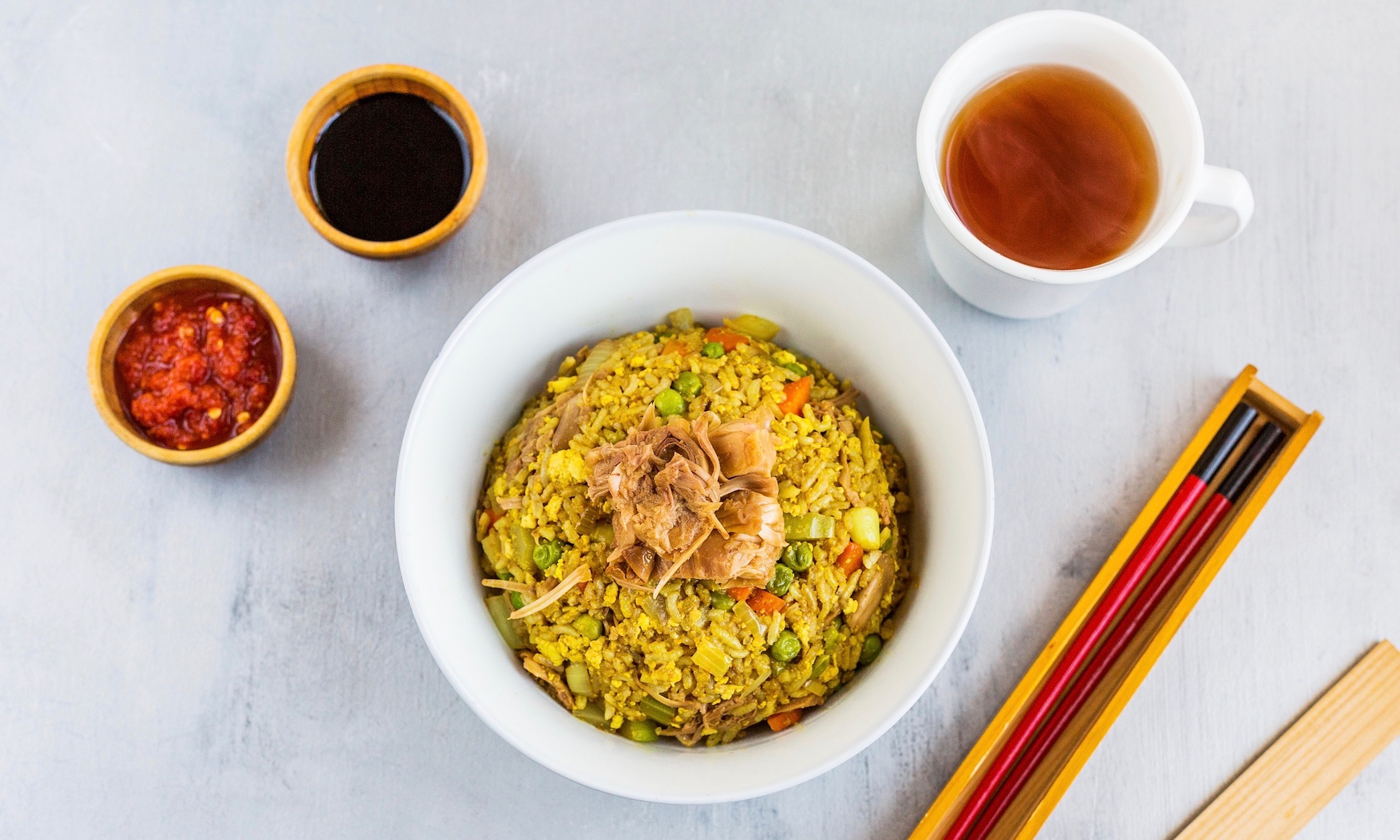 Sweet & Smoky Fried Rice